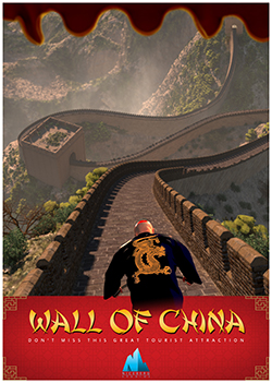 """Wall of China"""