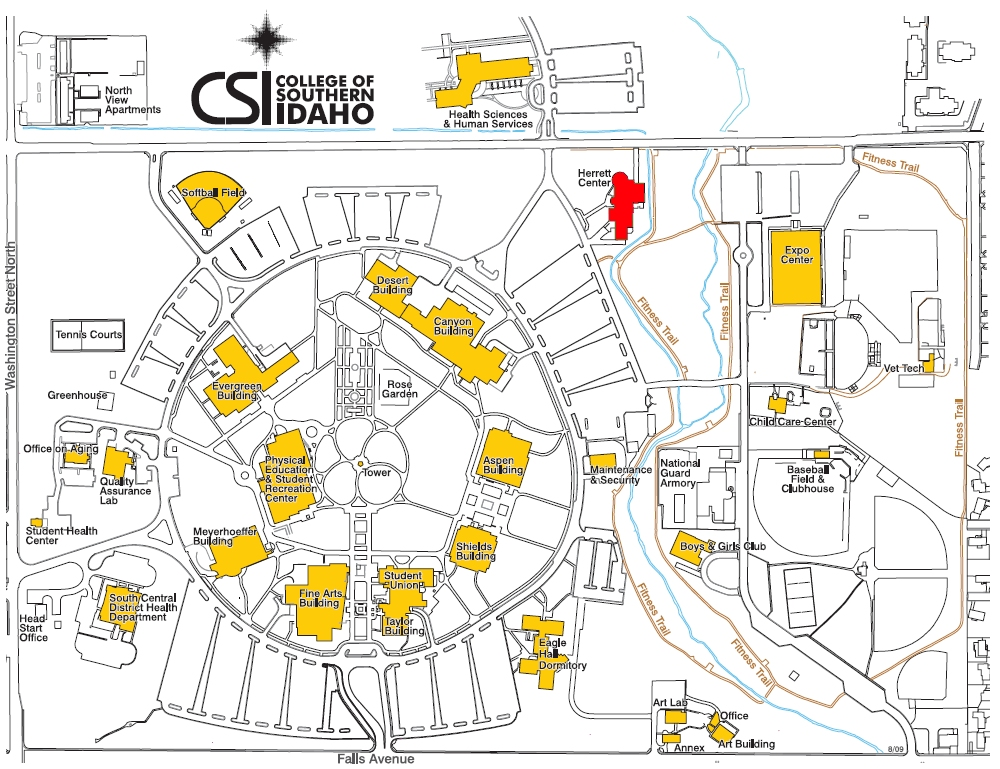Csi Campus Map The Herrett Center for Arts & Science
